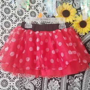 💚 Minnie Mouse Kids Skirt